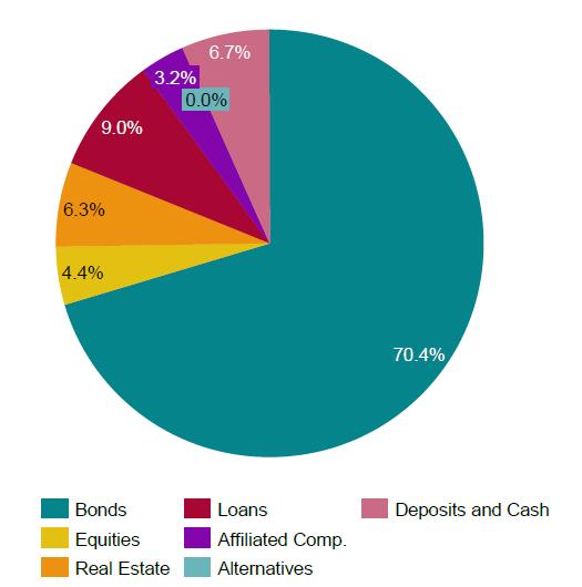 Investiční portfolio skupiny VIG