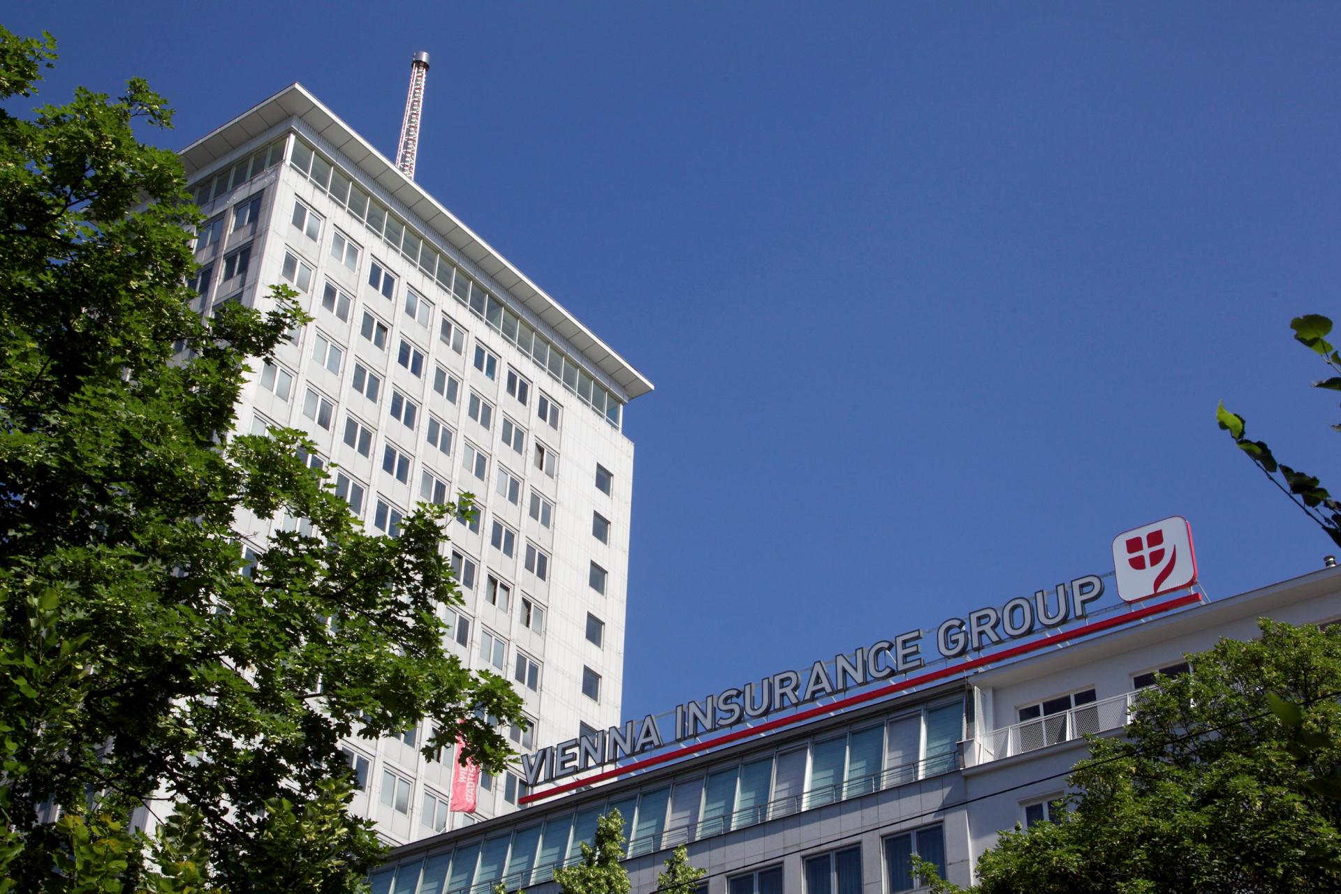 Sídlo pojišťovny Vienna Insurance Group