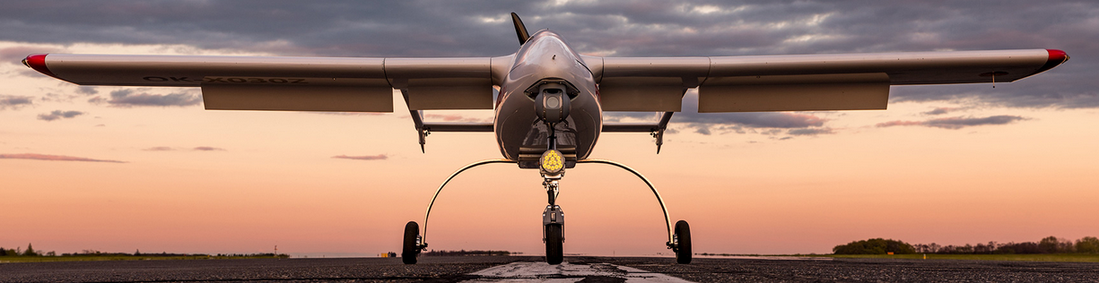 Letadlo společnosti Primoco