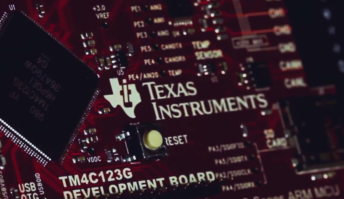 Čip společnosti Texas Instruments