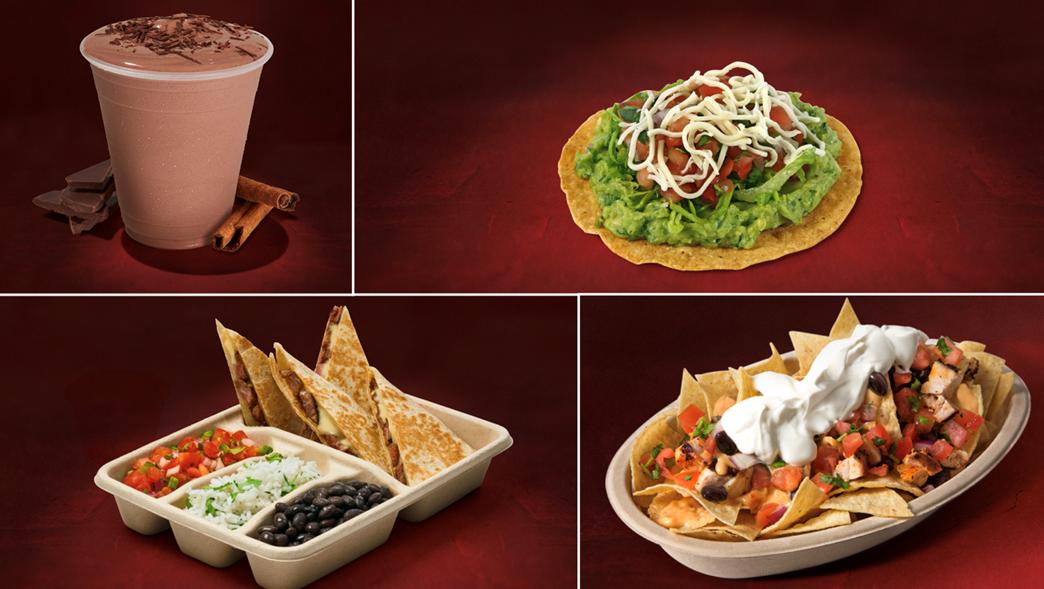 Řetězec rychlého občerstvení Chipotle nabízí jídla inspirovaná mexickou kuchyní