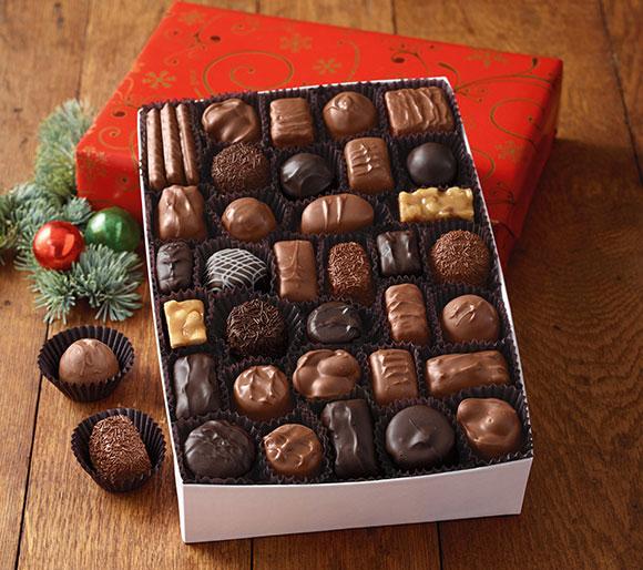 Čokoláda See's Candies vypadá opravdu krásně