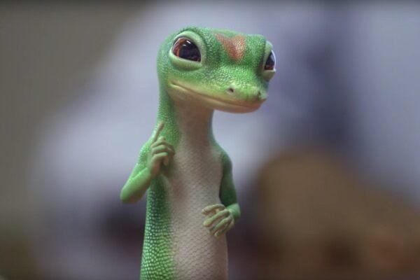 Pojišťovna GEICO je známá pro své kreativní reklamy s maskotem Gecko