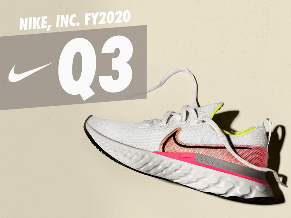 Výsledky Nike za 3Q