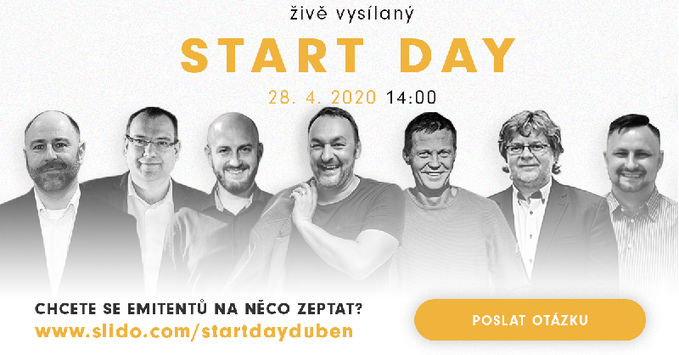 STARTDAY 28. 4. 2020