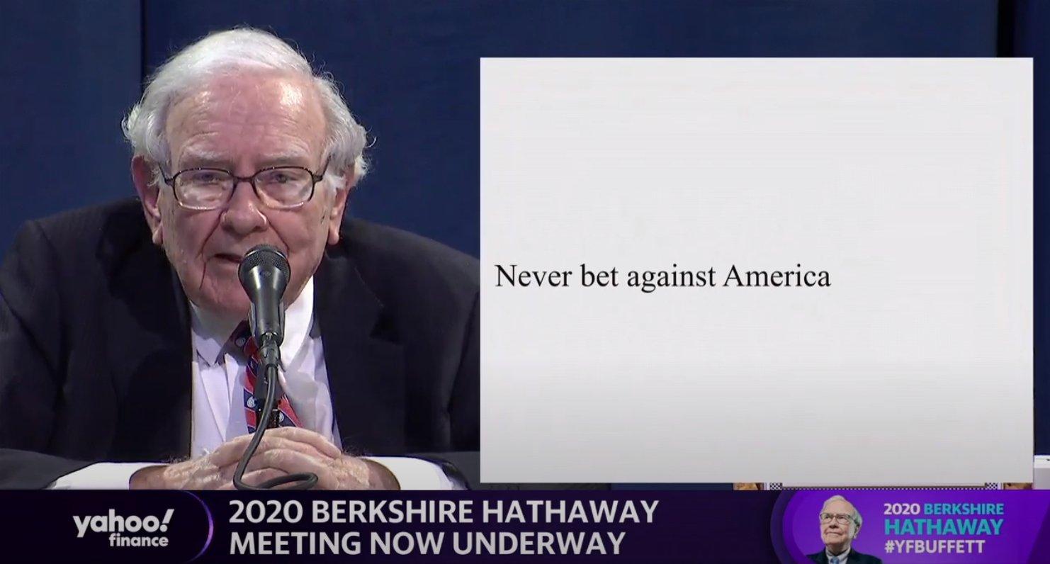 Warrenův vzkaz zní jasně: Nikdy nesázejte proti Americe