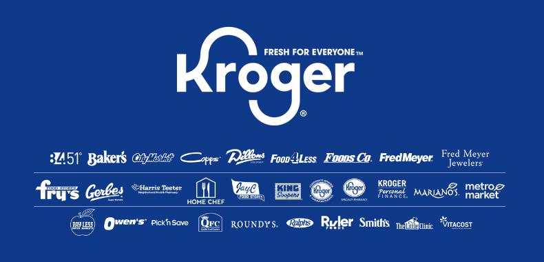 Logo společnosti Kroger a jejích značek