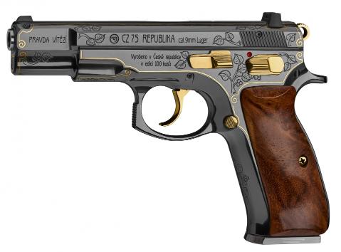 Výroční edice legendární pistole CZ 75