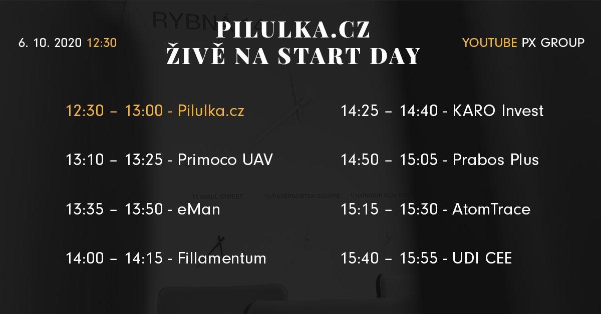 Program nadcházejícího START day