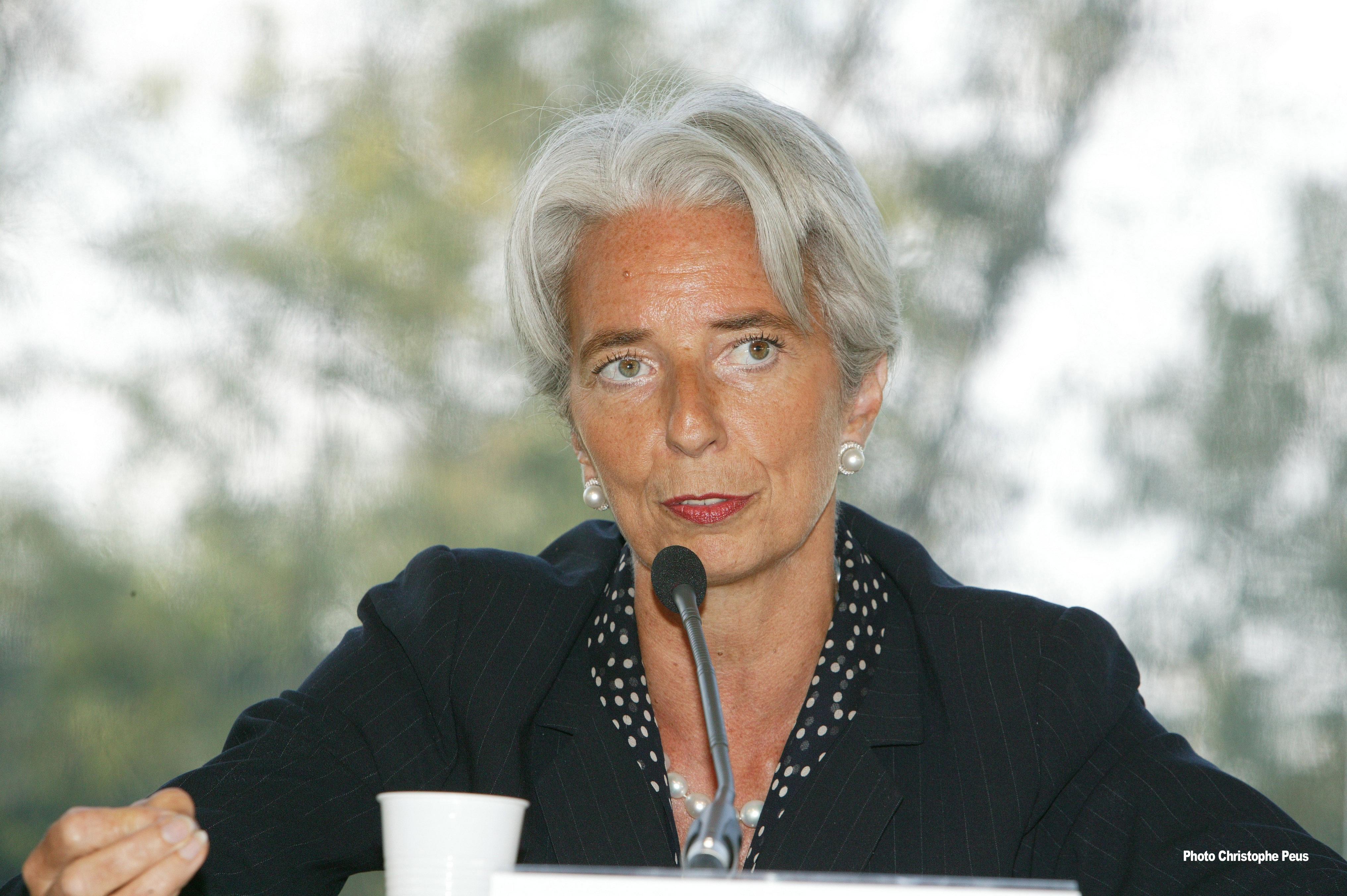 Generální ředitelka MMF Christine Lagarde, zdroj: MEDEF via Wiki Commons