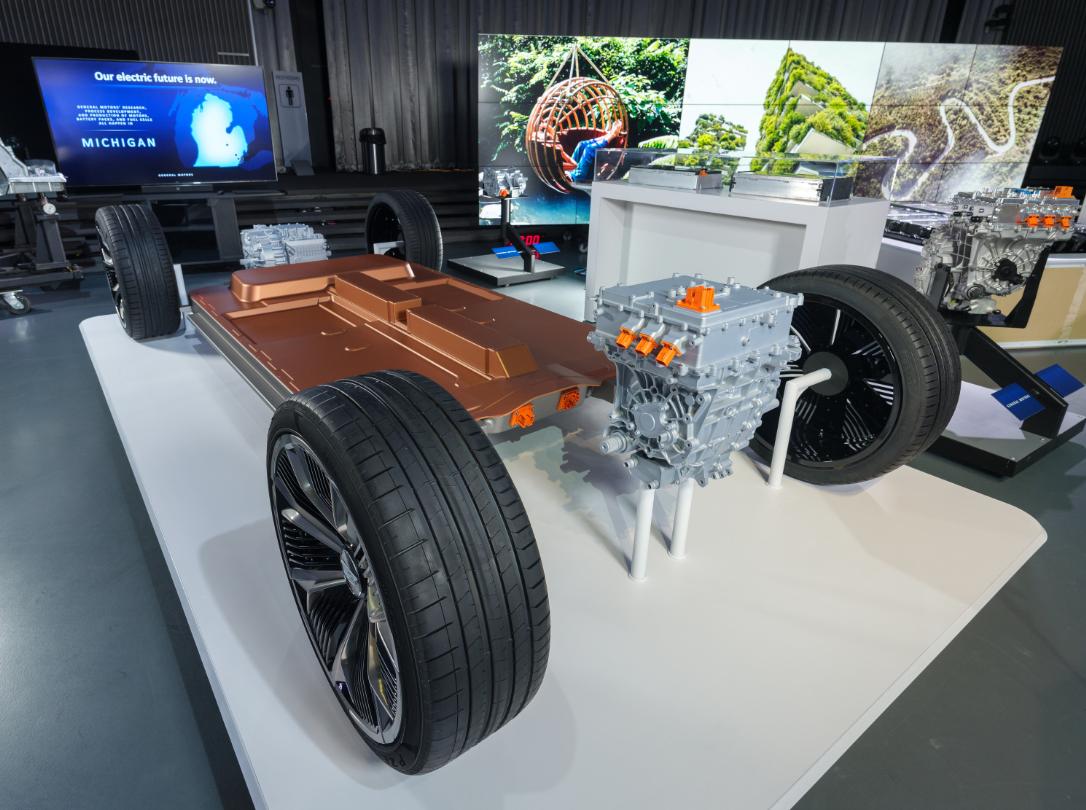 General Motors představuje novou modulární platformu a bateriový systém Ultium, zdroj: General Motors