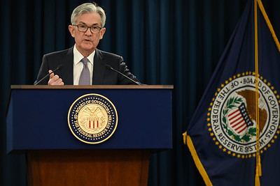 Ilustrační foto: Předseda FED Jerome Powell, zdroj: The Federal Reserve