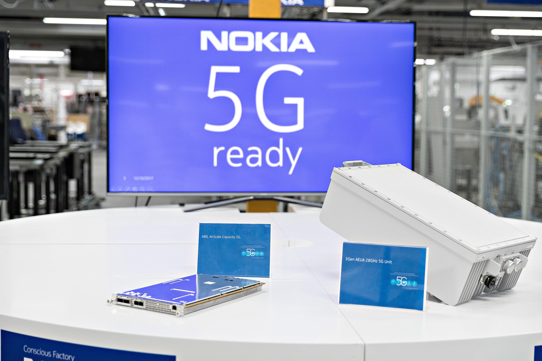 Výsledek obrázku pro Nokia 5G